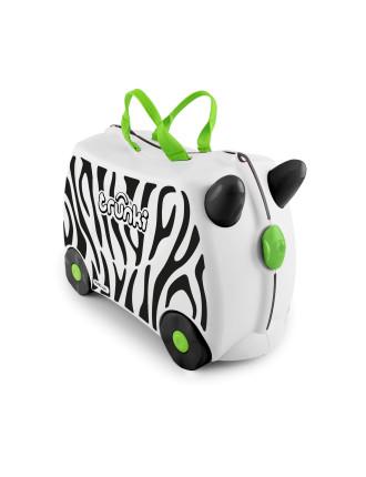 Zebra Zimba Ride On Suitcase