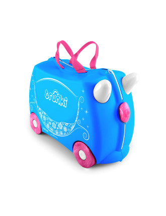 Princess Carriage Pearl Ride On Suitcase