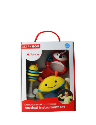 Explore & More Musical Instrument 3 Piece Set
