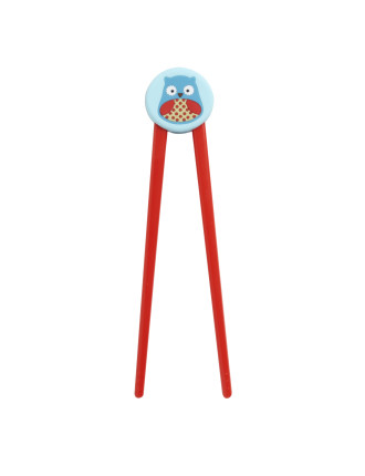 Skip Hop Owl Zoo Training Chopsticks