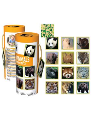 Mammals Memory Game