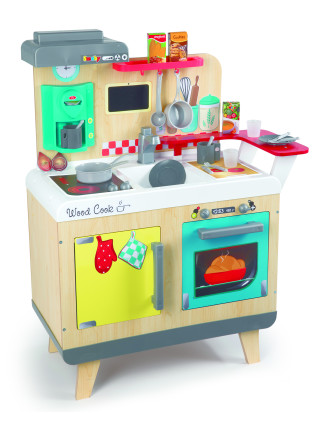 Smoby Wooden Electronic Kitchen