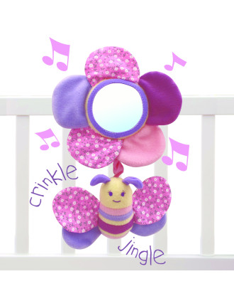 Billowy Butterfly Musical Pull Toy