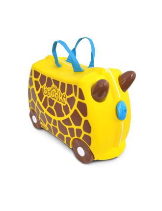Gerry Giraffe Ride On Suitcase
