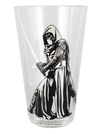 Star Wars Kylo Ren Colour Change Glass