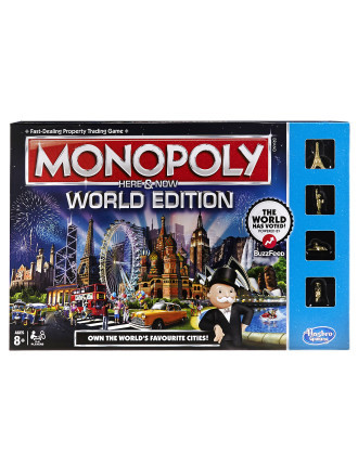 Monopoly World Vote Here & Now