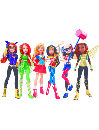 Dc Super Hero Girl Action Doll 12' Assorted