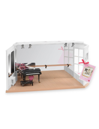 6' Doll Ballet Studio
