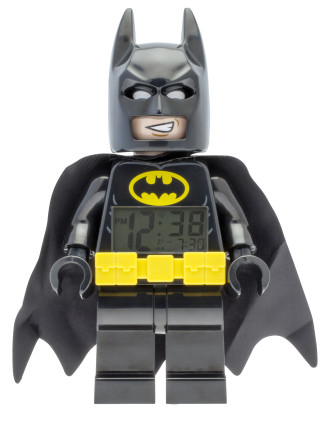 Batman Movie Batman Minifigure Clock