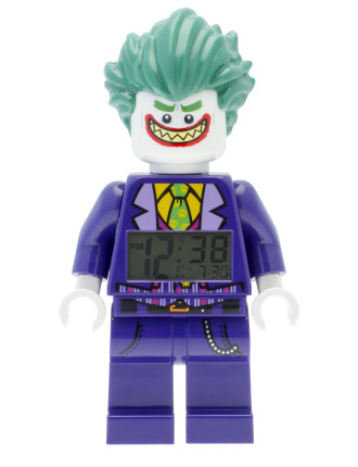 Batman Movie The Joker Minifigure Clock