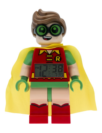 Batman Movie Robin Minifigure Clock