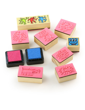 Keith Haring Stamps