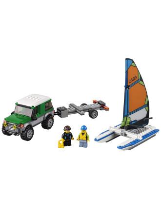 City 4x4 With Catamaran