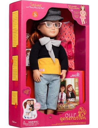 Deluxe Twin Doll Sabina With Book