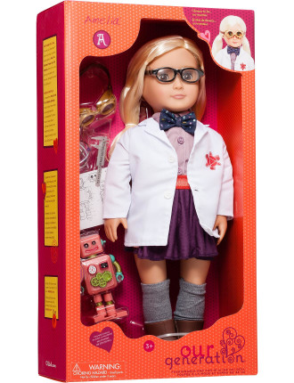 Amelia Professional Inventor Doll