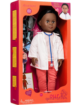 Meagann Family Doctor Doll (Aa)