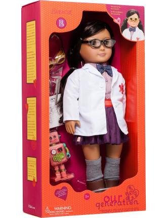 Blanca Professional Inventor Doll
