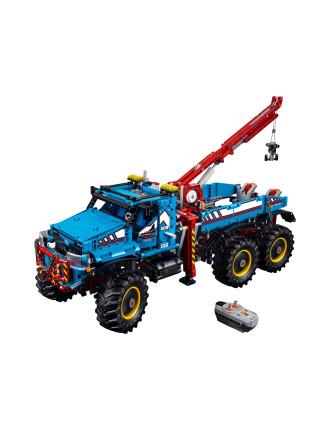 Technic 6x6 All Terrain Tow Truck