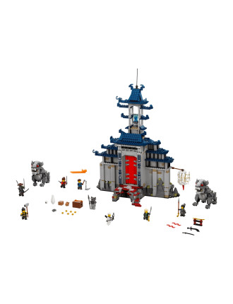 Lego Ninjago Temple Of The Ultimate Ultimate Weapon