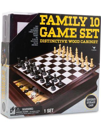 Cardinal Family 10 Games Set