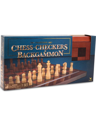 Cardinal Chess, Checkers & Bac