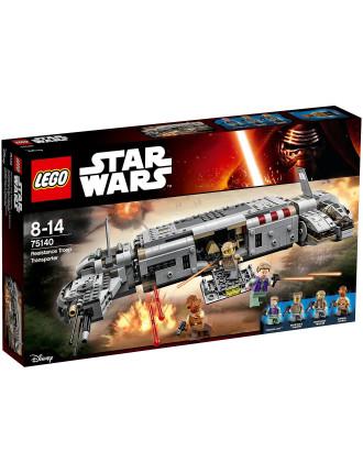 Star Wars Resistance Troop Transporter