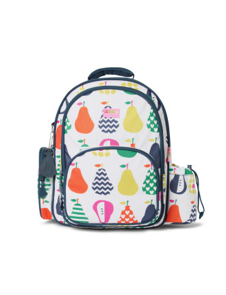Pear Salad Large Backpack