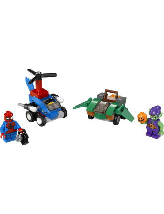 Super Heroes Mighty Micros Spider Man Vs Green Gobl