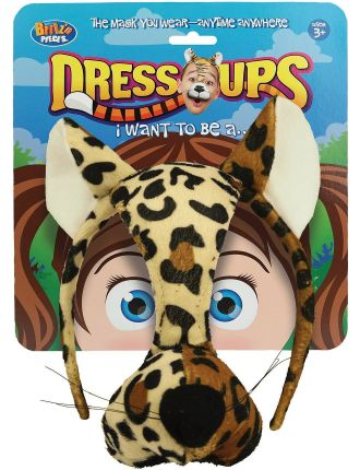 Dress Up Mask Leopard