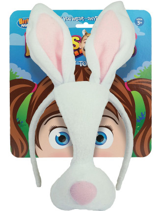 Dress Up Mask Bunny