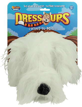 Dress Up Mask Shaggy Dog