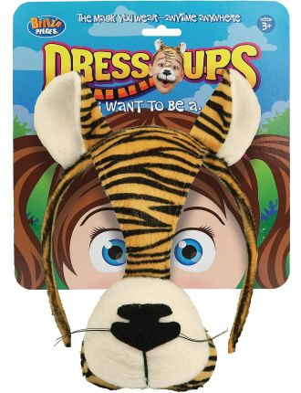 Dress Up Mask Tiger