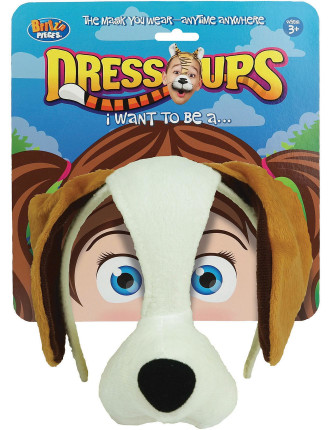Dress Up Mask Doggy