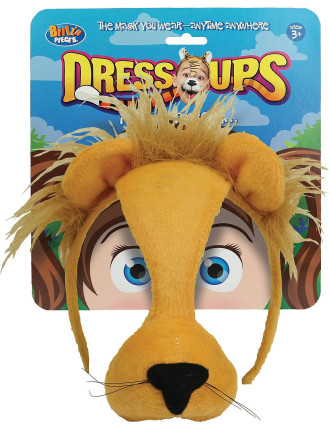 Dress Up Mask Lion
