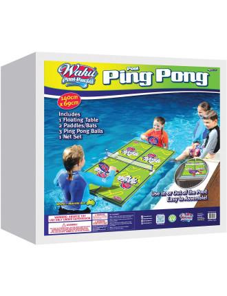 Pool Ping Pong