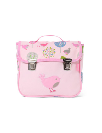 Chirpy Bird Uncoated Satchel Bag