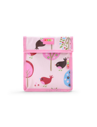 Chirpy Bird Velcro Snack Bag