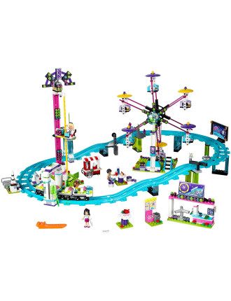 Friends Amusement Park Roller Coaster