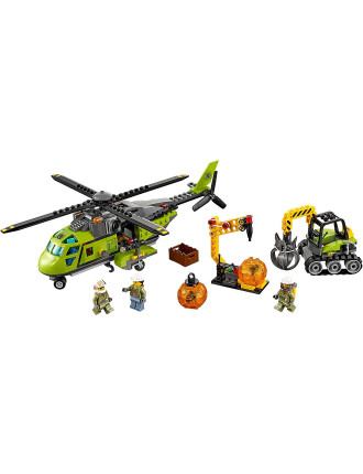 City Volcano Supply Helicopter