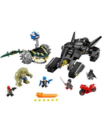 Super Heroes Batman Killer Croc Sewer Smash