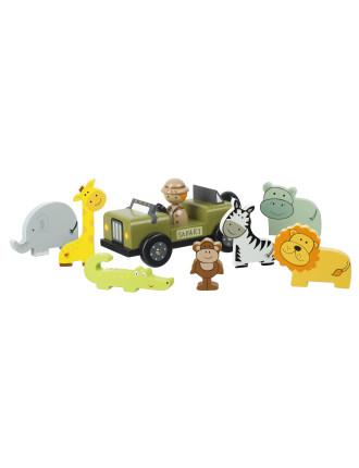 Orange Tree Toys Safari Play Set