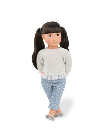 May Lee 18' Non Poseable Doll