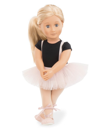 Violet Anna 18' Non Poseable Doll