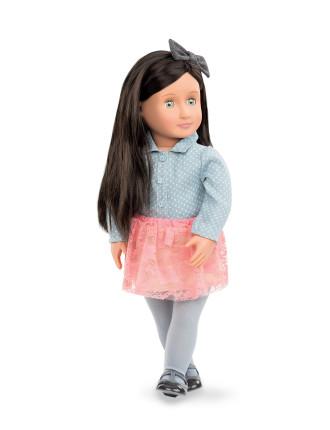 Elyse 18' Non Poseable Doll