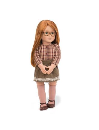 April 18' Non Poseable Doll