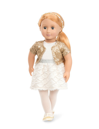 Holiday Hope 18' Non Poseable Doll