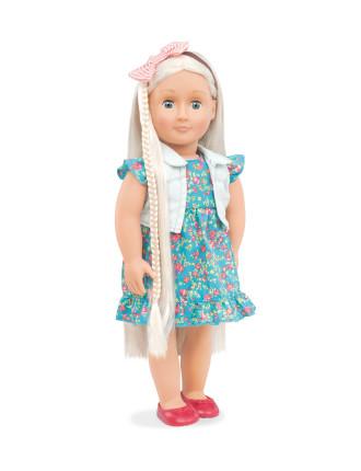 Pearl Blonde Hair Grow Doll