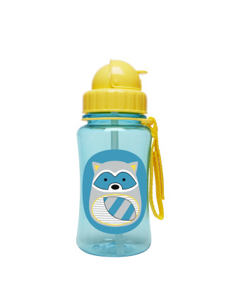 Skip Hop Raccoon Zoo Straw Bottle