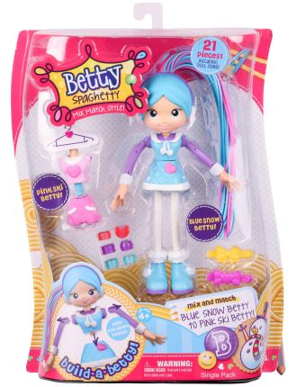 Betty Spaghetty Single Pack Assorted