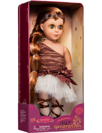 Og Limited Ed. Autumn Ballerina Doll